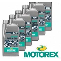 Aceite para horquilla MOTOREX Racing 1 litro 2.5W/5W/7.5W/10W/15W