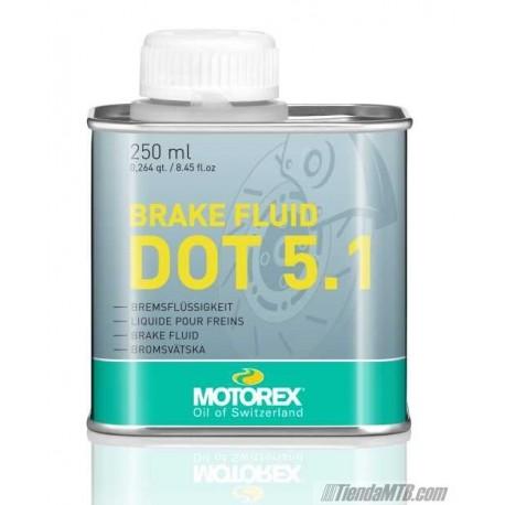 DOT5.1 MOTOREX liquido de frenos (SRAM, Avid, Formula,...)