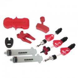 Kit de purgado de frenos de disco SRAM X0 / XX / GUIDE / LEVEL / CODE / HYDROR / G2