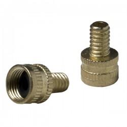 Presta pump to schrader valve adapter