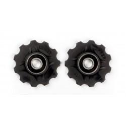 Jockey wheels with sealed ball bearings 11T
