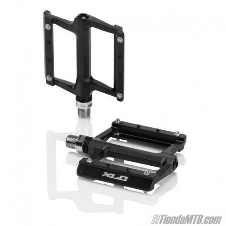Pedales plataforma XLC PD-M22 Aluminio Color negro