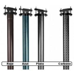 Tija de carbono de 50cm Leonardi Factory BO