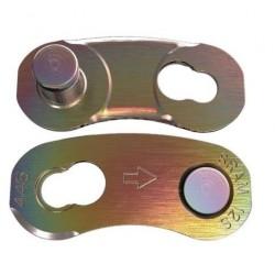 Eslabón de cierre fácil para cadenas SRAM de 12v Rainbow