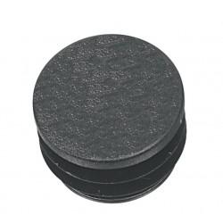 Tapón del extremo del manillar negro, por unidad 22 mm